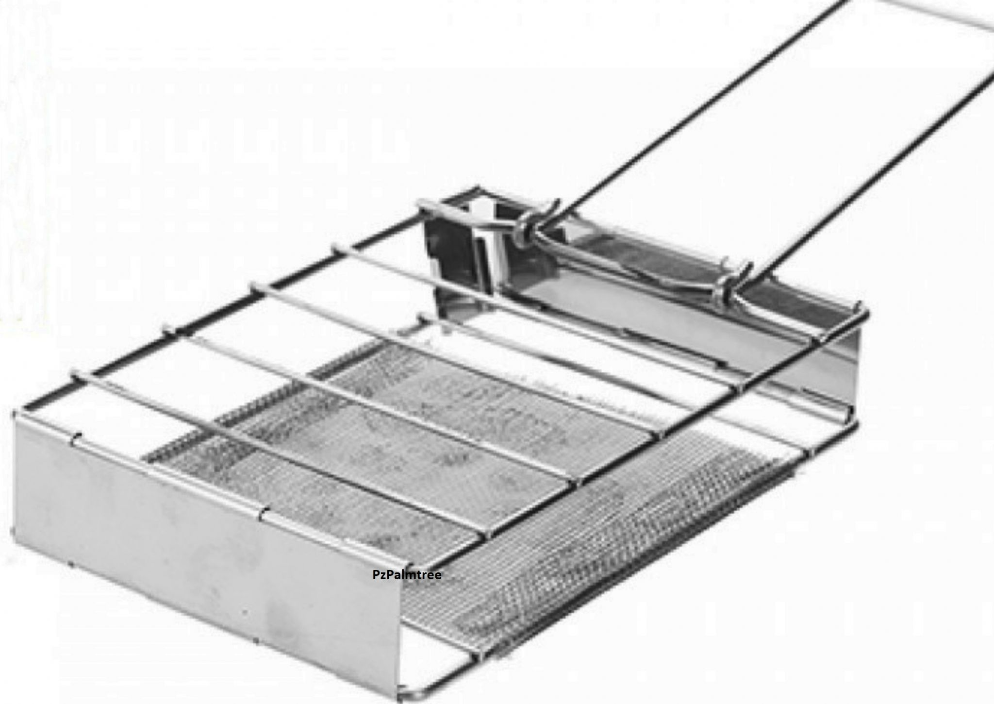 Folding Toaster Stainless Steel Camping Grill Stove